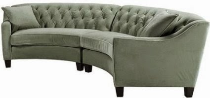 low priced 9b615 73ddf Curved Sofa Couch Furniture: Curved Sectional Sofas For Sale