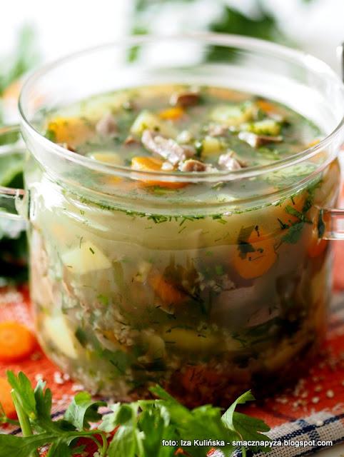 najlepszy krupnik, krupniczek domowy, zupa dnia, co na obiad, jak ugotować krupnik, zoladki drobiowe, mlode warzywa, comfort food