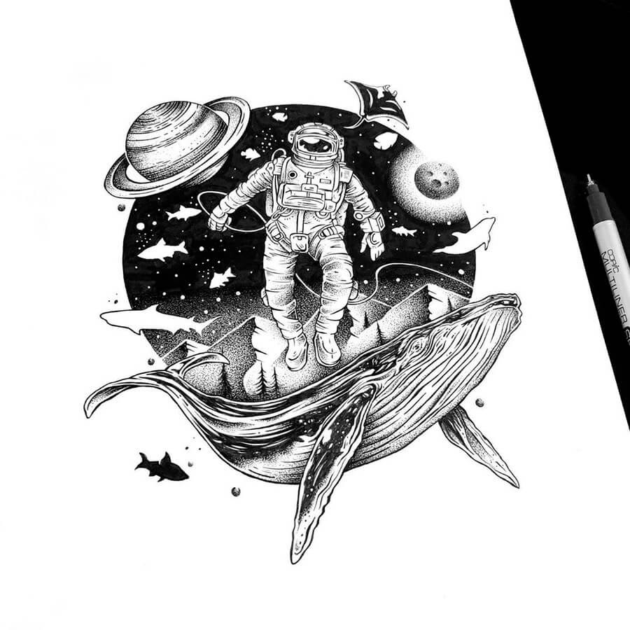 11-Whales-and-space-Thiago-Bianchini-www-designstack-co