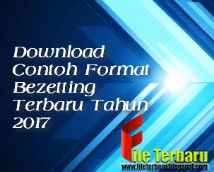 Download Contoh Format Bezetting Terbaru Tahun 2017