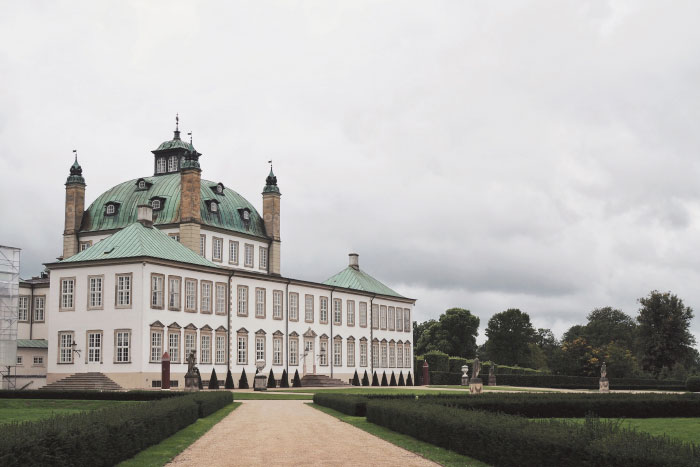 Château de Fredensborg au Danemark