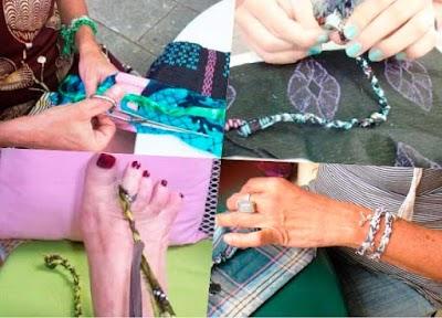 Como hacer una Pulsera o Brazalete GriGri de Moda