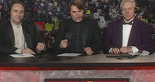 WCW SuperBrawl VIII (1998) - Tony Schiavone, Mike Tenay, Bobby 'The Brain' Heenan