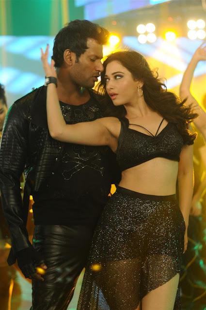 Tamanna hot photos from kaththi sandai tamil movie
