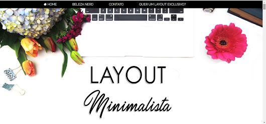 Freebies: Layout Free Minimalista Reponsivo