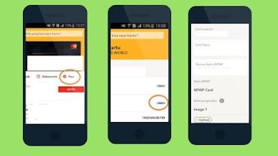 Cara Menaikkan limit Kartu Kredit Digibank permanent