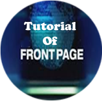 MS- Frontpage 2000 Tutorial, learn front page online free by abcsa