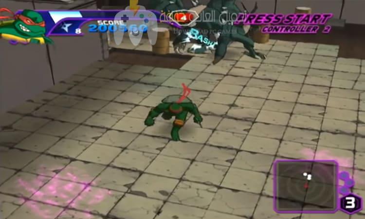 تحميل لعبة سلاحف النينجا مضغوطة برابط مباشر من ميديا فاير