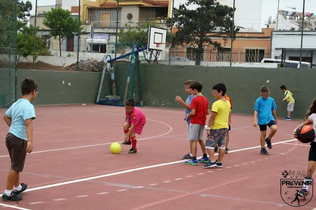 futbol niños arucas