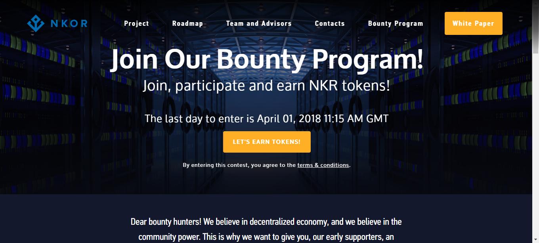 NKOR FREE AIRDROP COIN TOKEN | ValueBitcoin - #1 Bitcoin Faucet ...