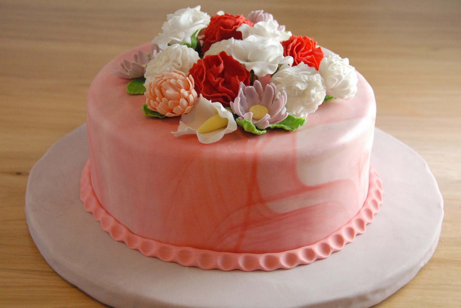 Cake Flower Birthday