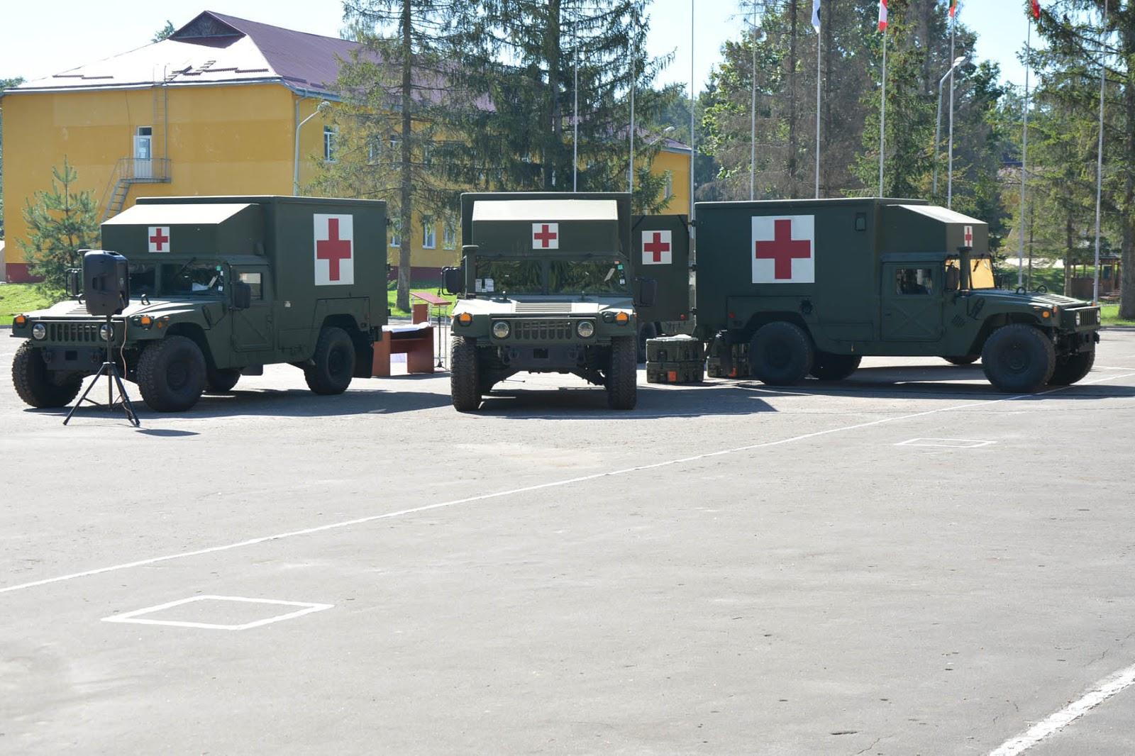HMMWV M1152 Burtek B4731 Ambulance module