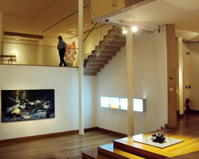 Museu de artes Visuais em Santiago