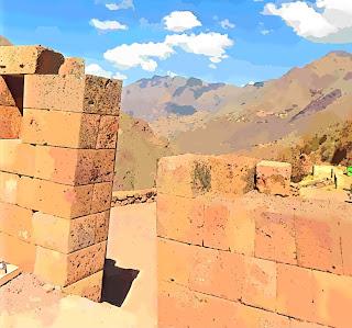 Ruínas Incas do Sítio Arqueológico de Pisac