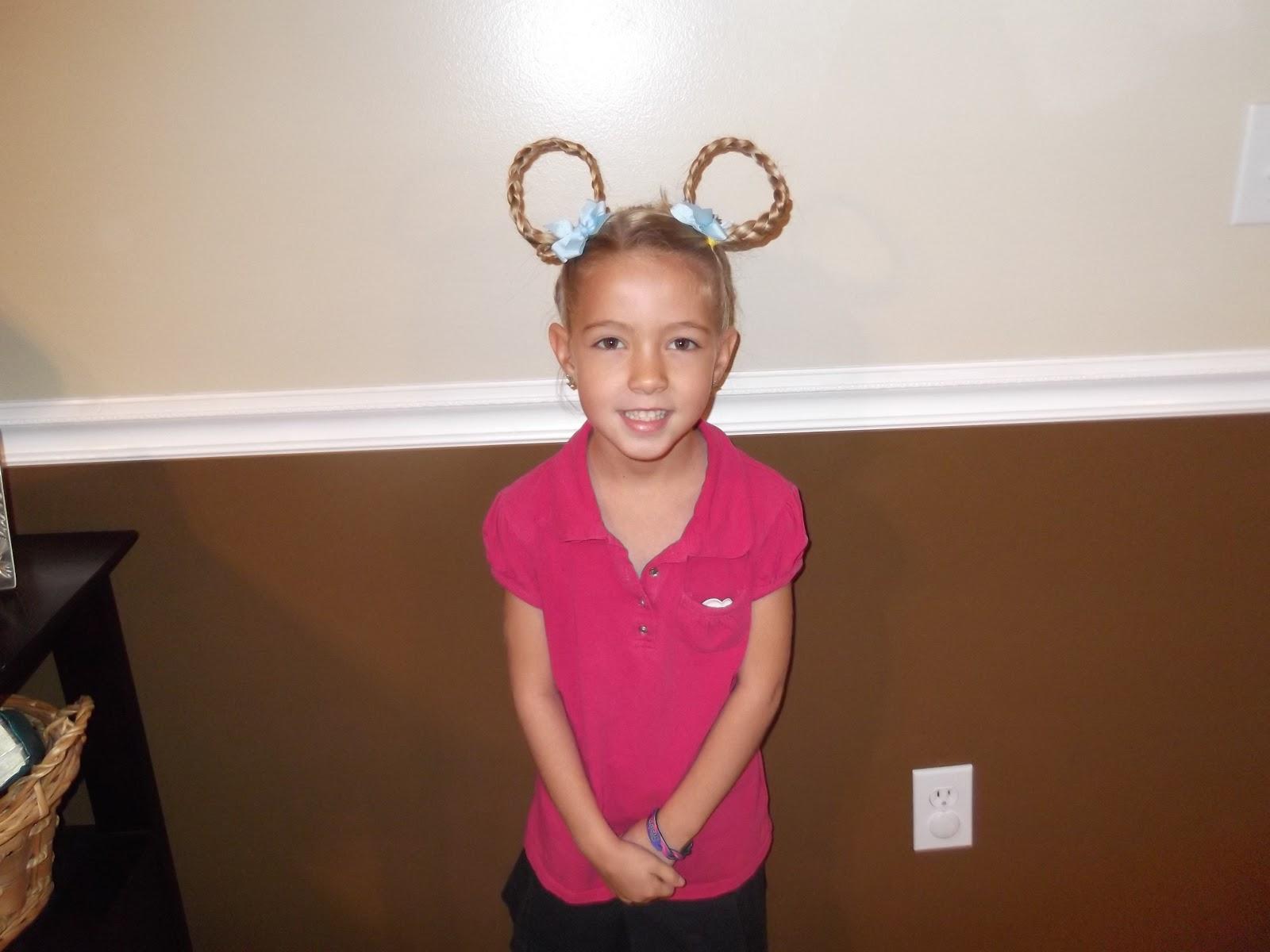 Shaunells Hair Little Girls Hairstyles Crazy Hair Day