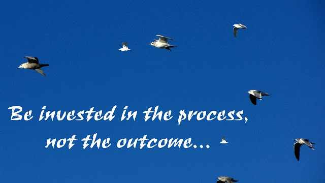 Process versus outcome...