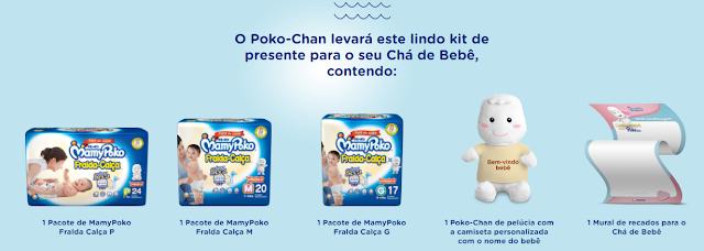Kit Chá de Bebê MamyPoko
