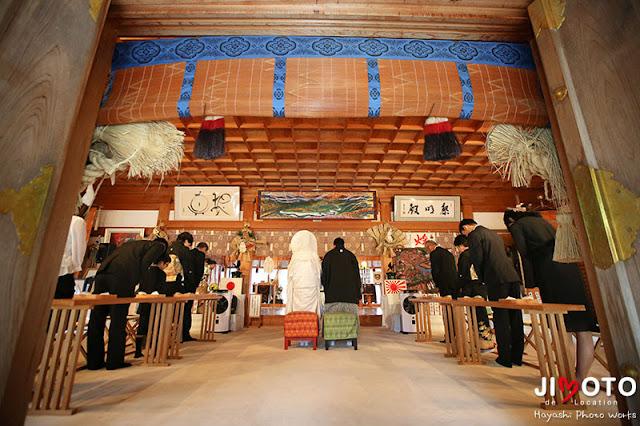 熊野本宮大社の挙式撮影