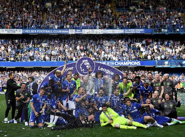 Pesta Meriah The Blues di Stamford Bridge