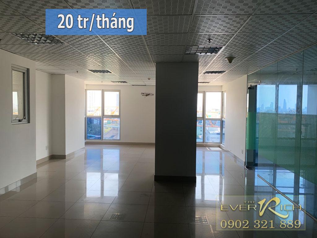 Cho thuê văn phòng Everrich q11 tầng 8 diện tích 113m2