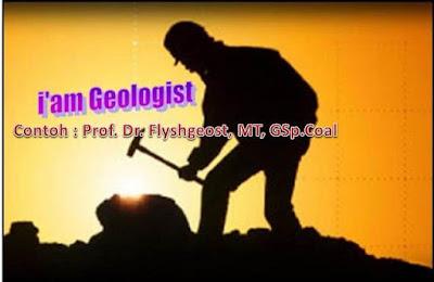 penyematan spesialisasi geologist