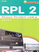 ajibayustore Judul Buku : RPL 2 - Rekayasa Perangkat Lunak SMK Kelas XI Pengarang : Fauziah   Penerbit : Yudhistira
