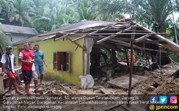 Tiga Kecamatan di Agam Sumbar Dilanda Banjir dan Longsor