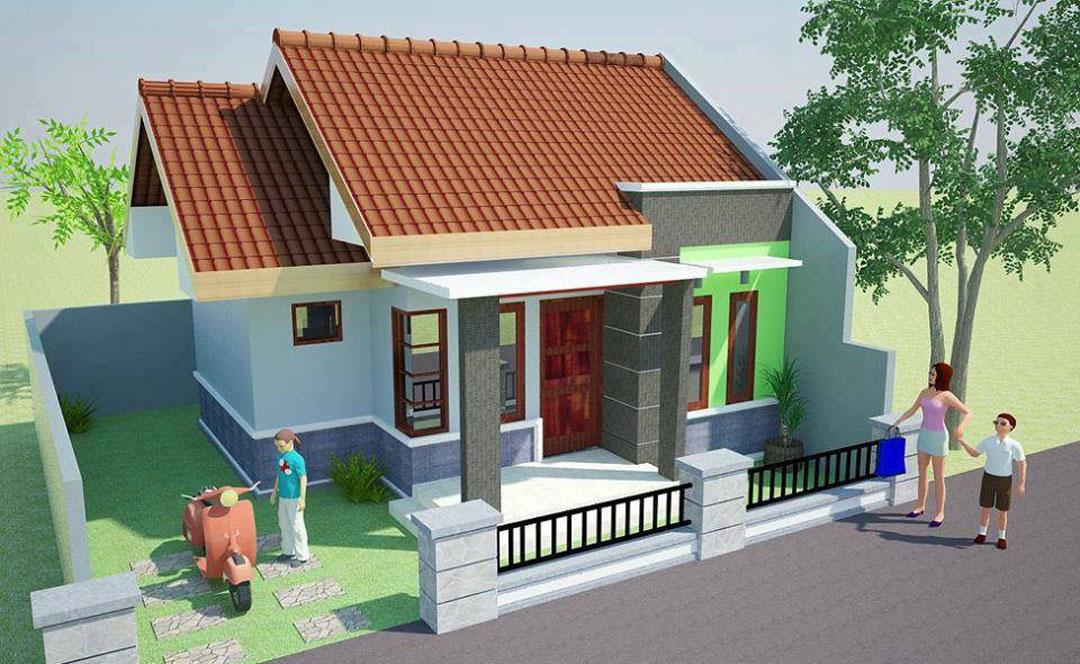 rumah minimalis satu lantai tampak depan 2017 desain
