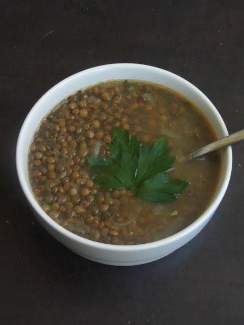 Vegan Lentil Soup, French Lentils Soup