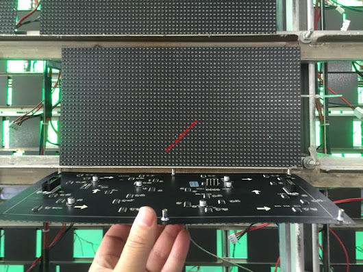 P5 Arc round video LED display module