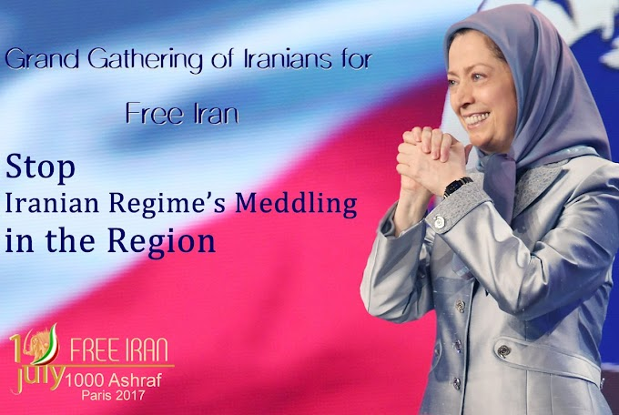 Grand Gathering for a #FreeIran July 1, Paris
