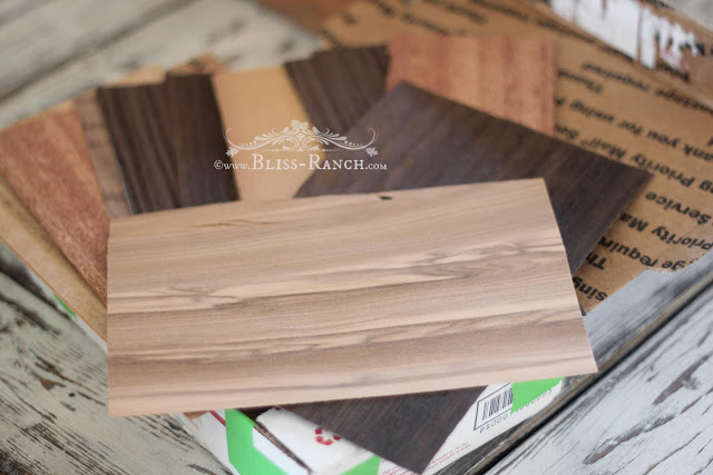 Veneer scraps Bliss-Ranch.com