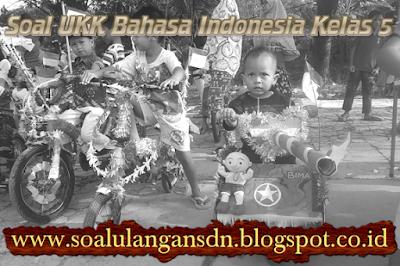 Soal UKK Bahasa Indonesia Kelas 5 KTSP