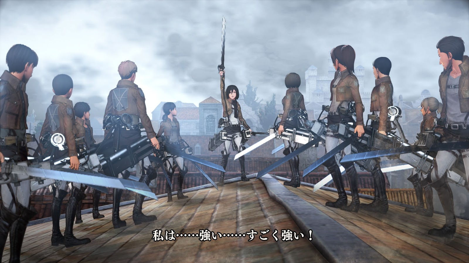 Review - Attack on Titan: Wings of Freedom - We Know Gamers
