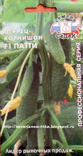 огурцы - корнишоны Патти