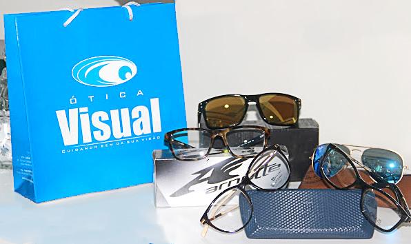 7d7bbcecaf373 Compre seu óculos de grau na Ótica Visual de Pintadas e ganhe um óculos  esporte
