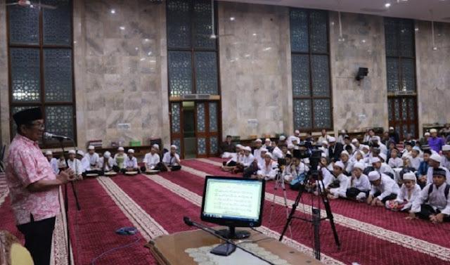 Masjid Agung Sunda Kelapa Gelar Itikaf Sambut Ramadhan