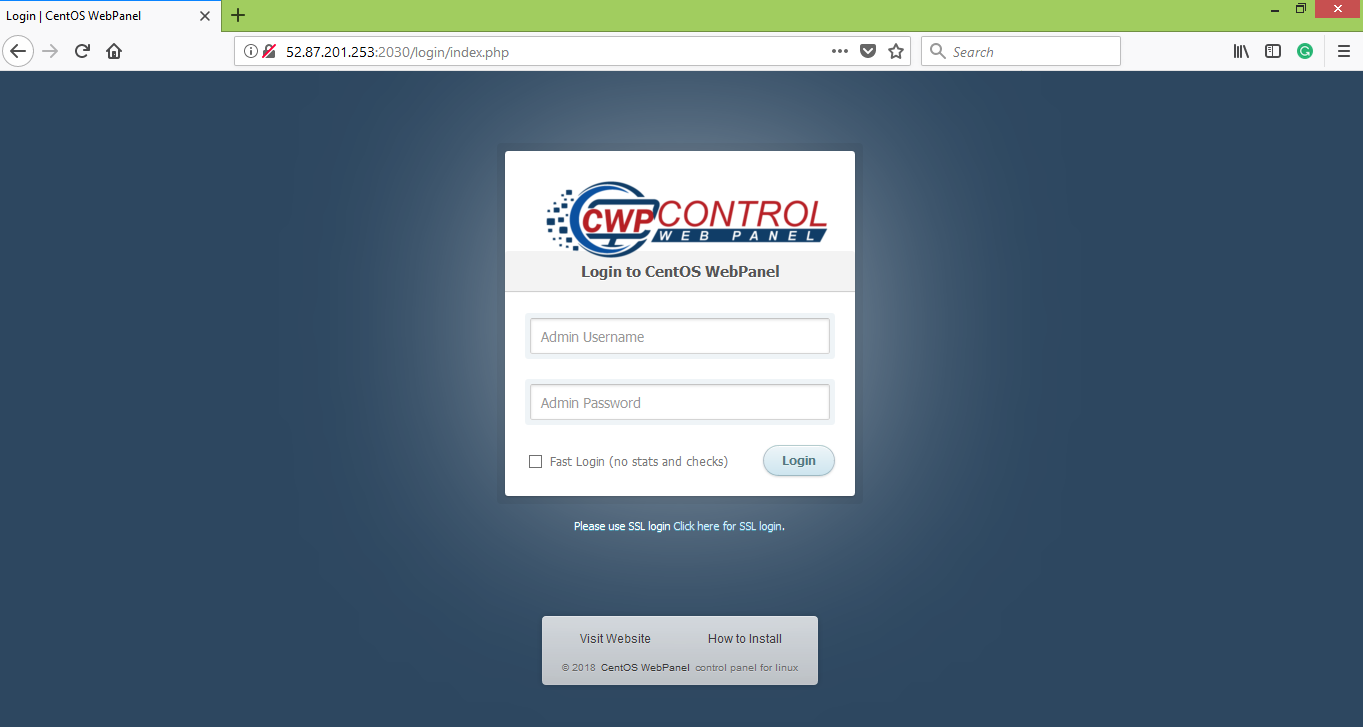 Centos Browser