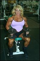 Female Bodybuilder Beth Roberts