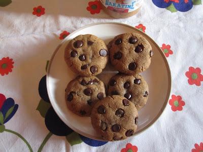 Cookies au beurre de cacahuètes et pépites de chocolat, Dakatine
