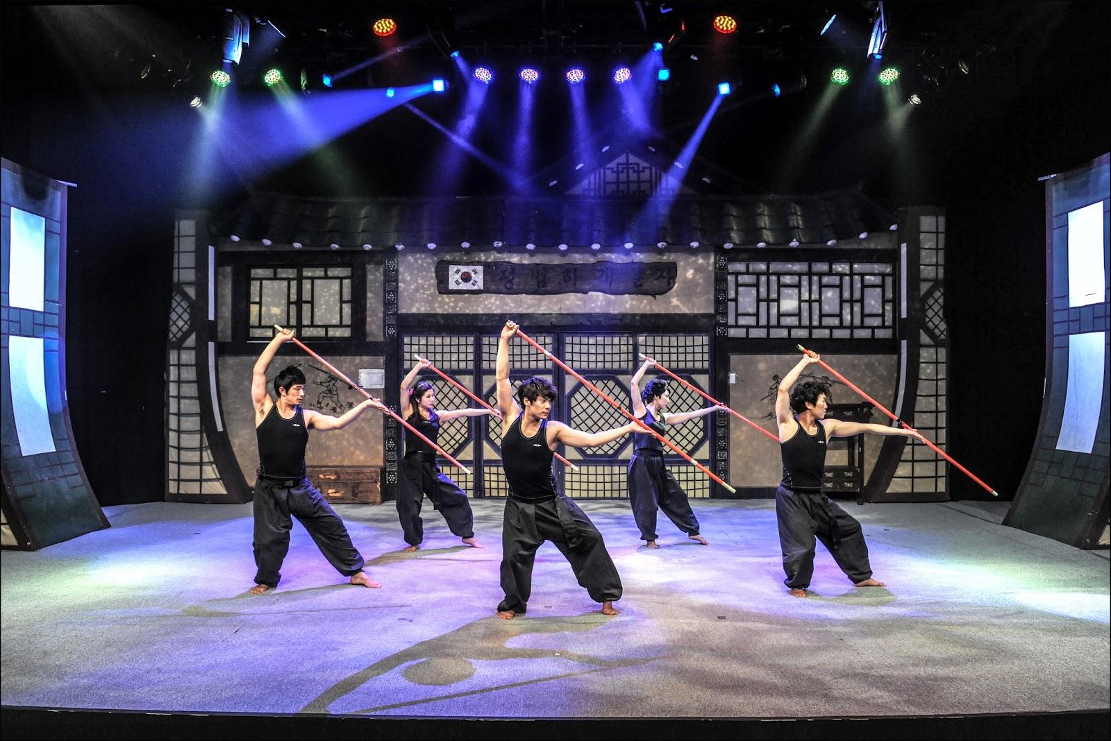 JUMP show Seoul South Korea comedy martial art show