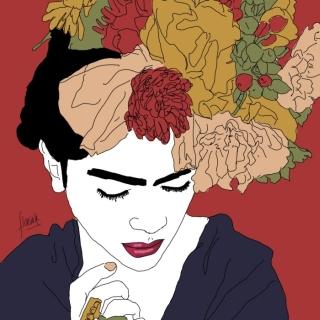 Фрида Кало. Florina