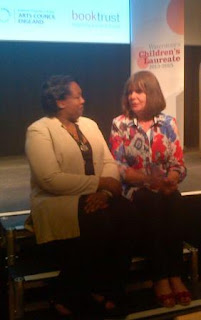 Malorie Blackman and Julia Donaldson
