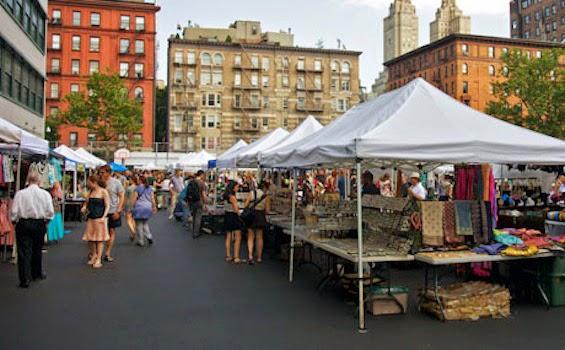 Green Flea Market em Nova York