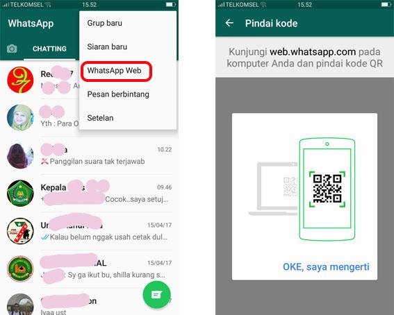 Cara Whatsapp Di Laptop Tanpa Barcode Archidev