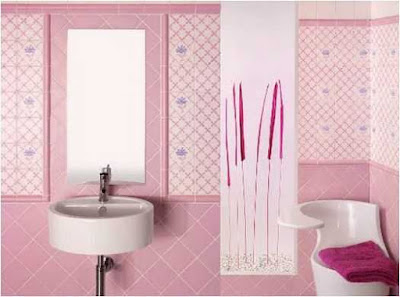 Decorating Ideas For Bathroom With Pink Tile