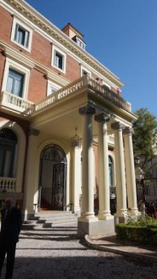 Fachada del Palacio de Zurbano