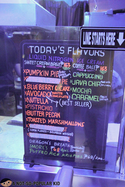 The Iscreamist of Teachers Village - Menu and Prices