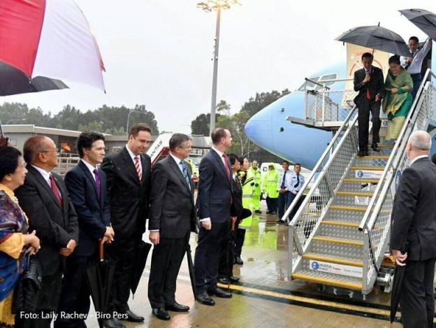 Tiba di Sydney, Jokowi: Selamat Pagi Australia