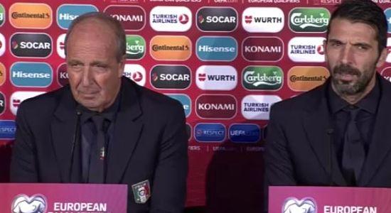 """Conferenza pre Italia Liechtenstein VENTURA:""""Occasione per dimostrarsi da nazionale""""  BUFFON:""""Firmo per la vittoria, quanti gol non mi interessa"""""""